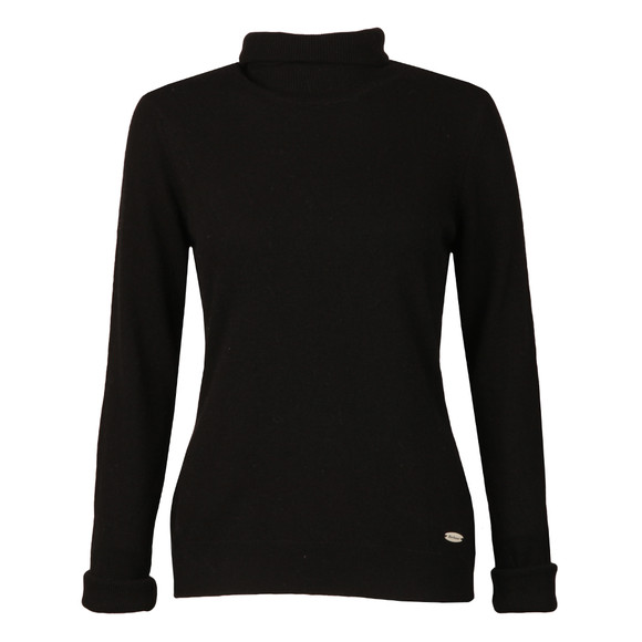 Barbour Lifestyle Womens Black Faray Roll Neck main image