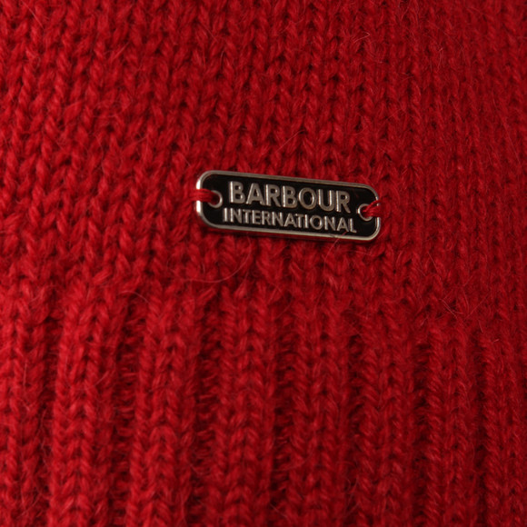 Barbour International Womens Red Endo Knit main image