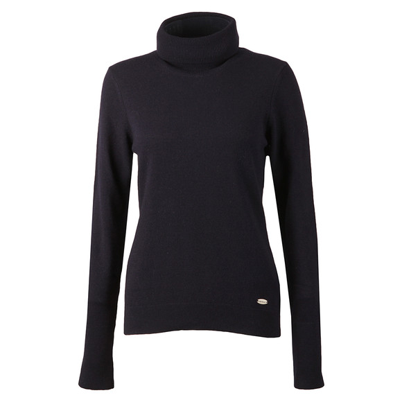 Barbour Lifestyle Womens Blue Faray Roll Neck main image