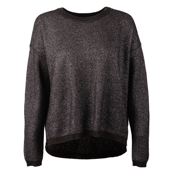 Maison Scotch Womens Grey Cool Metallic Knit main image