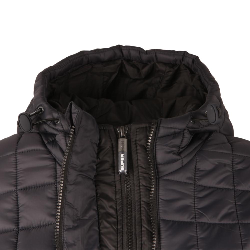 Hooded Box Quilt Fuji Jacket  main image