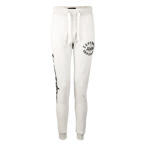 Superdry Womens Grey Super Skinny Applique Jogger main image