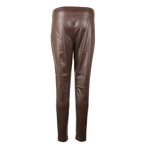 French Connection Womens Brown Atlantic Pu Skinny Trouser main image