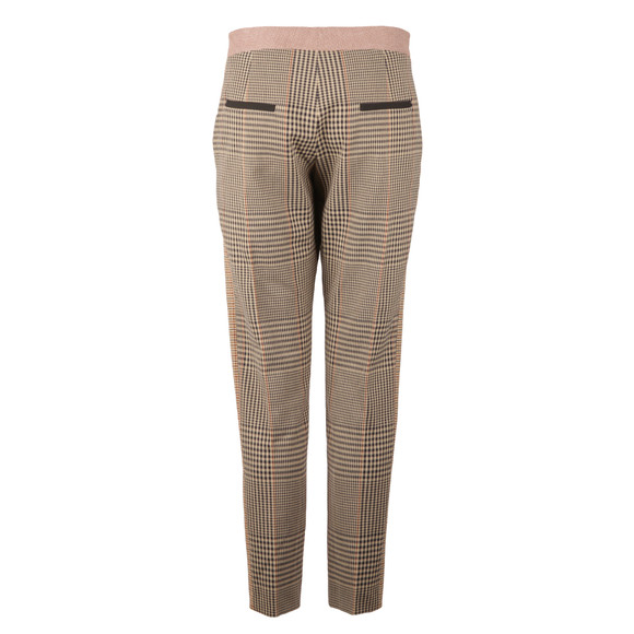 French Connection Womens Beige Prince Mix Suiting Trouser main image