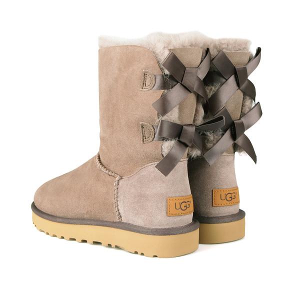 Ugg Womens Grey Bailey Bow II Boot main image
