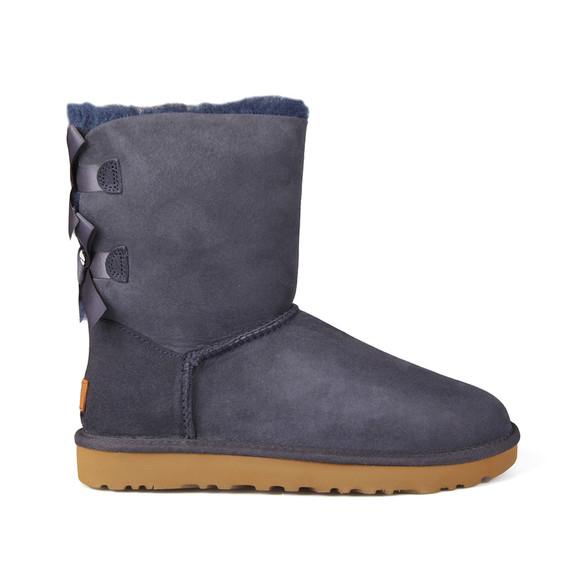 Ugg Womens Blue Bailey Bow II Boot main image