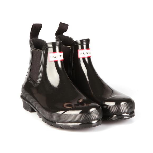 Hunter Womens Black Original Chelsea Boot main image