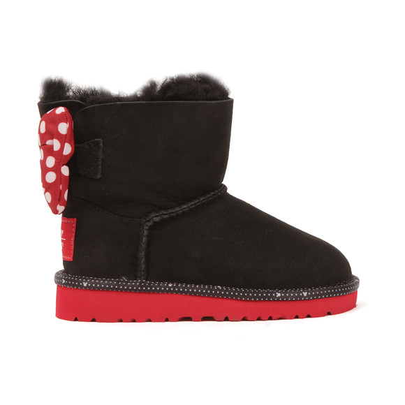 Ugg Girls Black Disney Sweetie Bow Boot main image