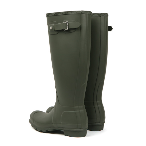 Hunter Womens Green Hunter Original Tall Wellington main image