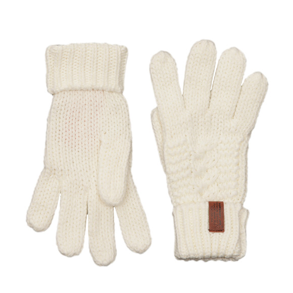 Superdry Womens Off-white North Glove main image