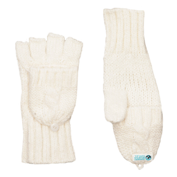 Superdry Womens Off-white Clarrie Mitten main image