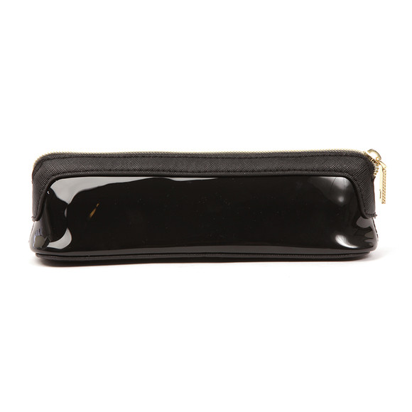 Ted Baker Womens Black Valda Colourblock Bow Pencil Case main image