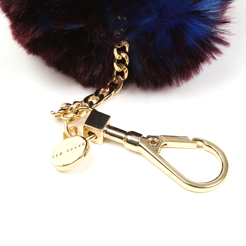 Plain Faux Fur Bag Charm main image