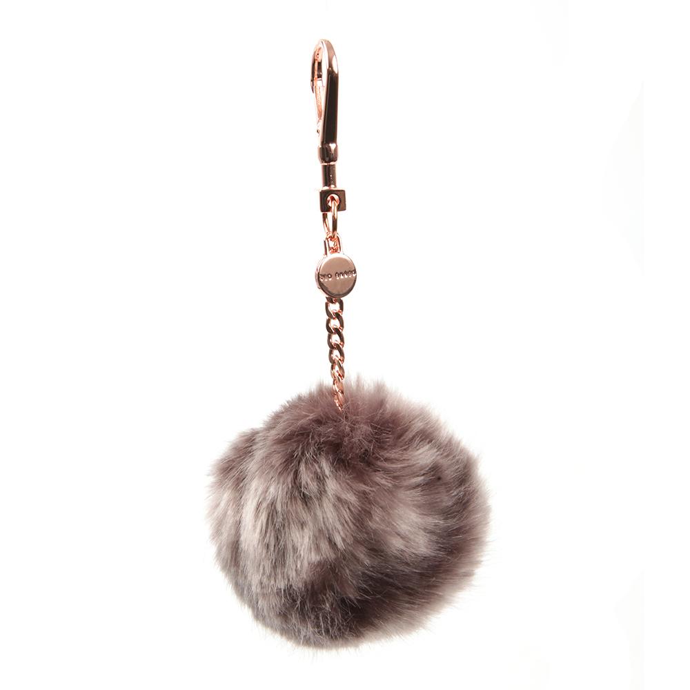 Plain Faux Fur Bag Charm main image