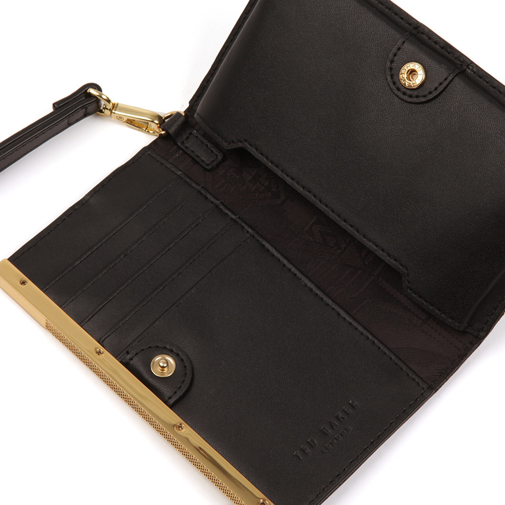Quinlee Slim Bar Leather Phone Sleeve main image