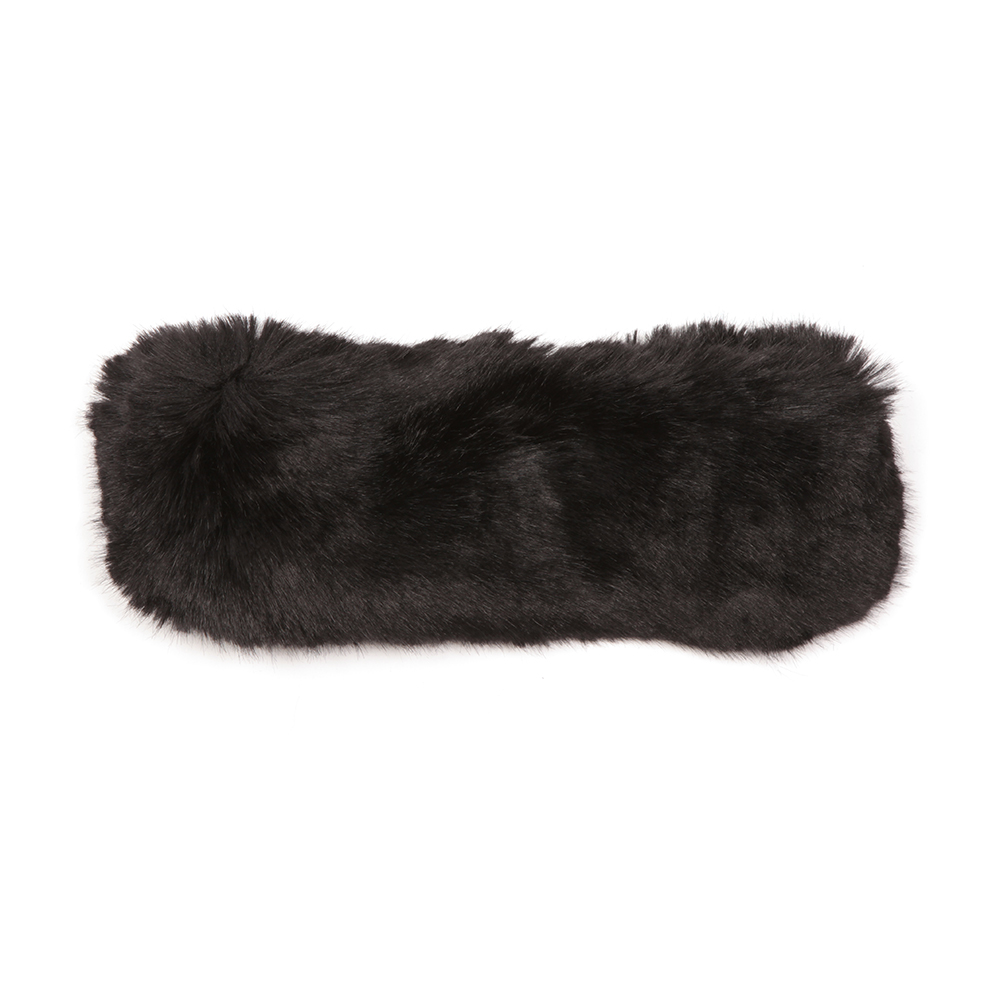 Willa Mini Bow Faux Fur Headband main image