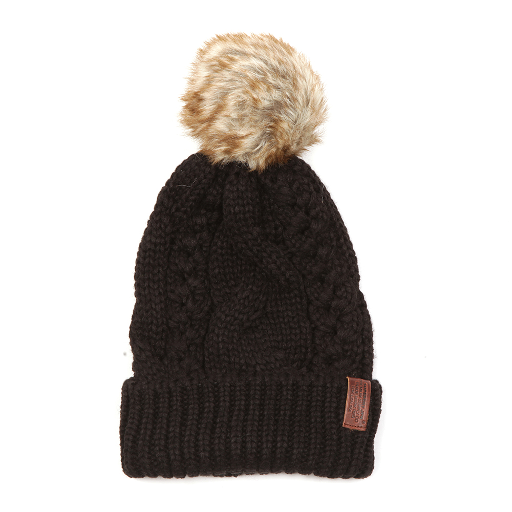 North Cable Bobble Hat main image