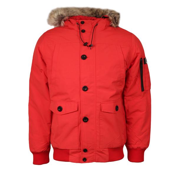 Weekend Offender Mens Red Scope Jacket main image