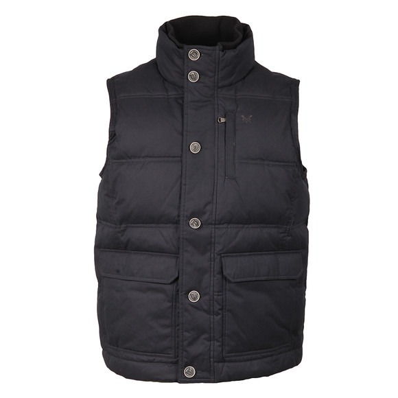 Crew Mens Blue Ridley Gilet main image