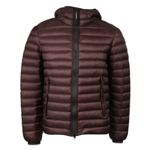 Down Hooded Goggle Puffer Jacket