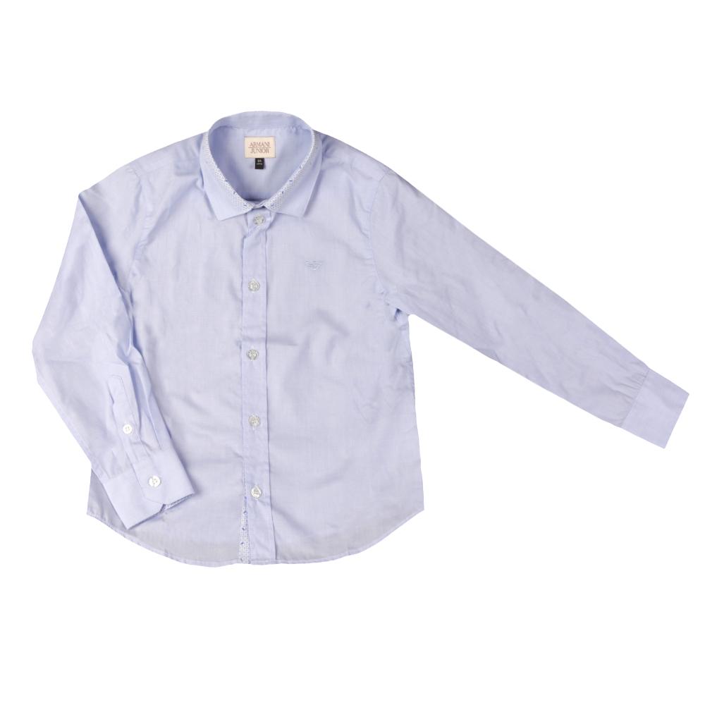 Detailed Collar Shirt