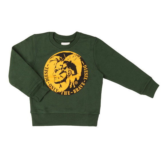 Diesel Boys Green Boys Sorqua Sweatshirt main image