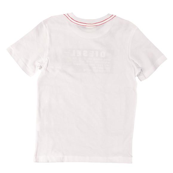 Diesel Boys White Taggi Slim T Shirt main image