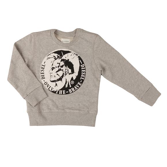 Diesel Boys Grey Boys Sorqua Sweatshirt main image