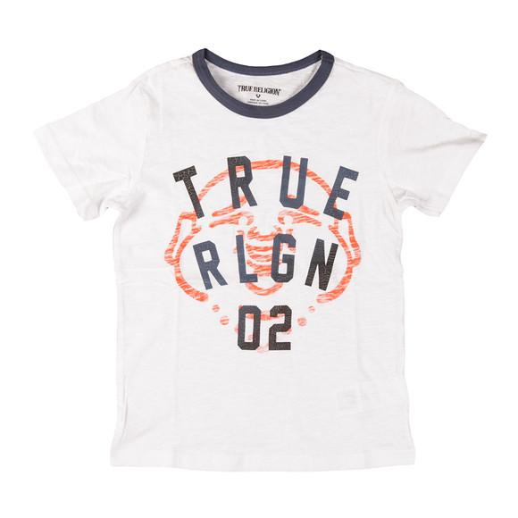 True Religion Boys White True Buddha T Shirt main image