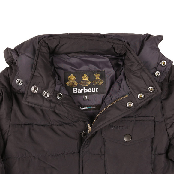 Barbour Lifestyle Boys Blue Boys Cowl Quilted Jacket main image