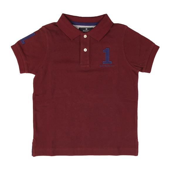 Hackett Boys Red Boys New Classic Number Polo Shirt main image
