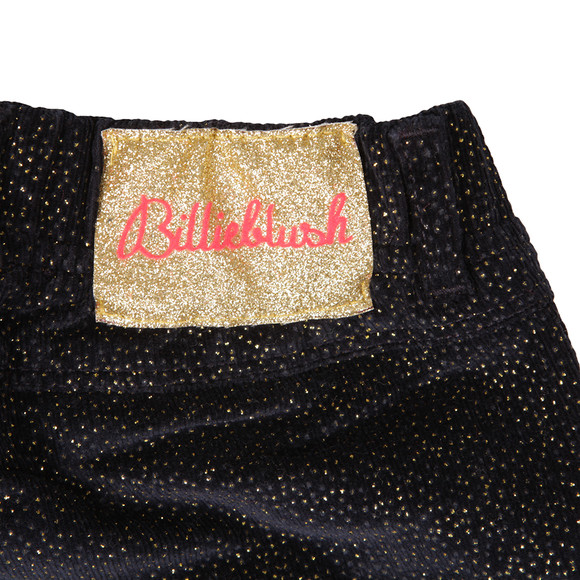 Billieblush Girls Blue Velvet  Trousers main image