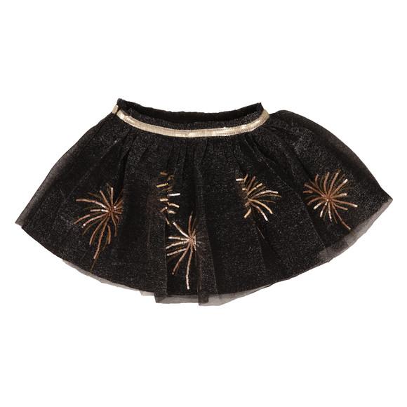 Billieblush Girls Black Metallic Skirt  main image