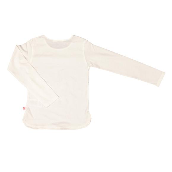 Billieblush Girls White U15343 T Shirt main image