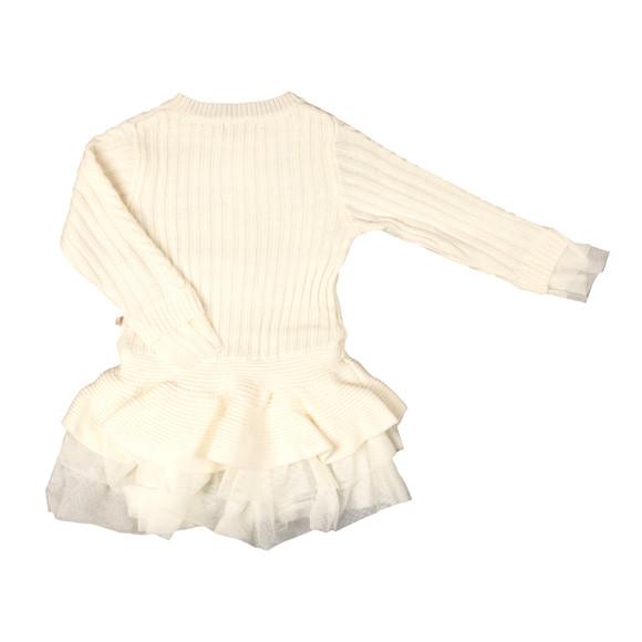 Billieblush Girls White U12237 Dress main image
