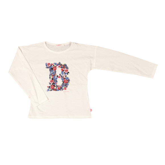 Billieblush Girls Off-white U15347 T Shirt main image