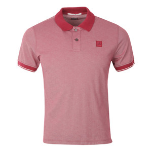 Slim Fit Contrast Collar Polo Shirt