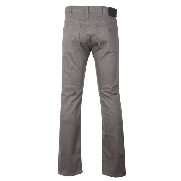 Armani Jeans Mens Grey J21 Regular Fit Jean main image