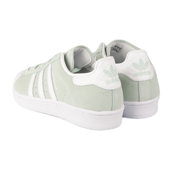 Adidas Originals Womens Green Superstar W Trainer main image