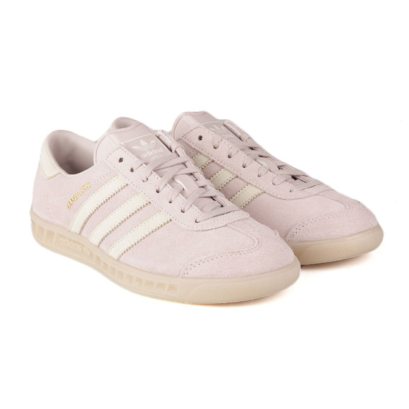 Adidas Originals Womens Purple Hamburg Trainer main image