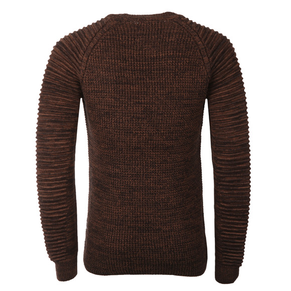 G-Star Mens Brown Suzaki Knitted Jumper main image