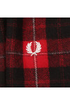 Fred Perry Mens Red Cunningham Tartan Scarf
