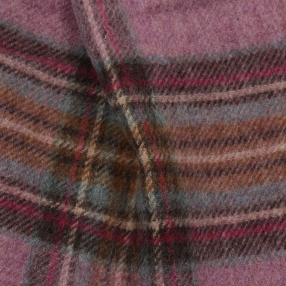 Barbour Lifestyle Womens Pink Country Check Scarf main image