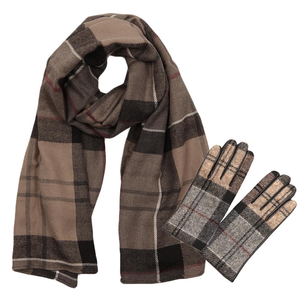 Tartan Glove and Scarf Set main image