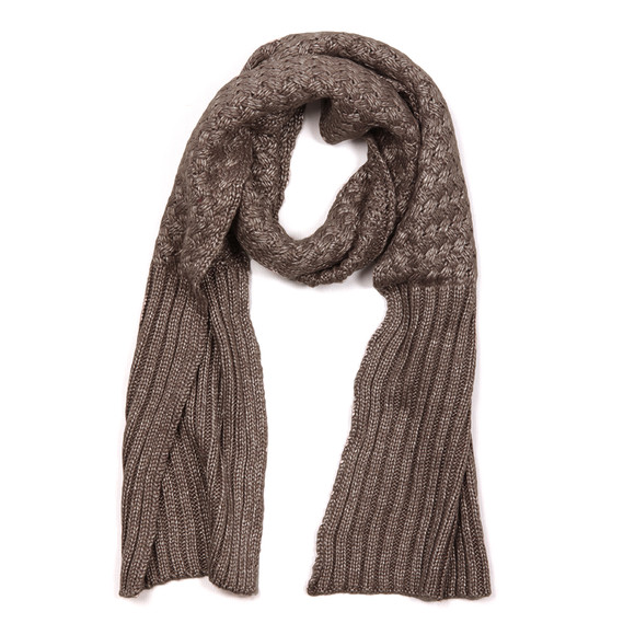 Barbour International Womens Grey Hat and Scarf Set main image