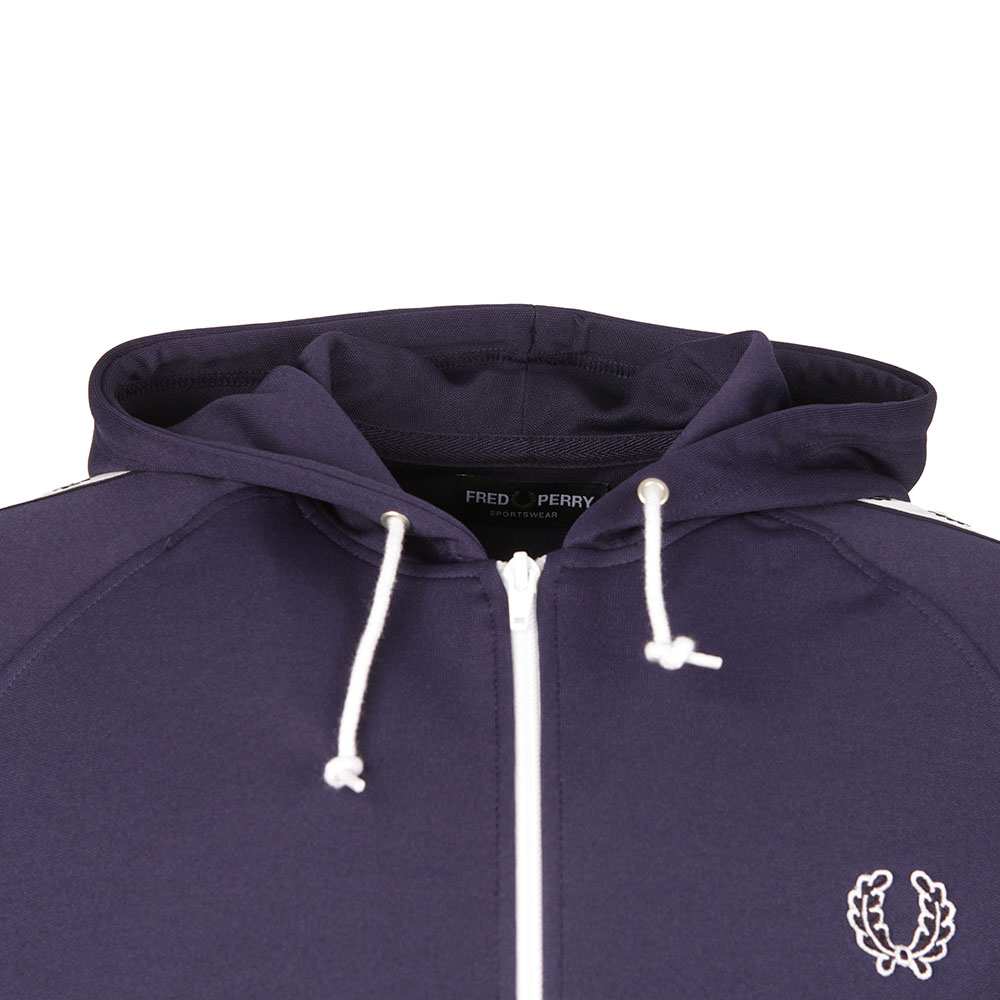 Taped Hooded Track Jacket main image