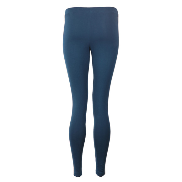 Adidas Originals Womens Blue 3 Stripes Legging main image
