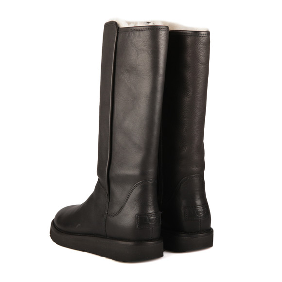 Ugg Womens Black Abree Leather Boot main image