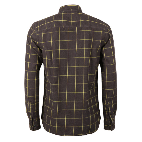 Duck & Cover Mens Black L/S Element Shirt main image