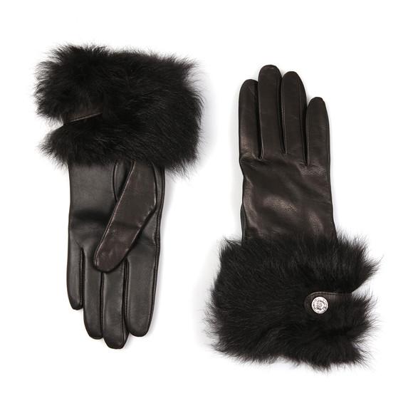 Ugg Womens Black Valentina Swarovski Smart Glove main image
